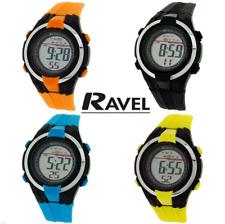 Ravel Boys Alarm Stop Watch Digital LCD 12 Months Warranty
