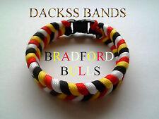 Bradford Bulls Rugby League Team 550 Paracord WristBand Bracelet Odsal Stadium