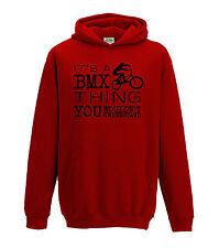 Juko Childrens Its a BMX Thing Hoodie Bike Top