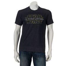 STAR WARS The Force Awakens LOGO T-Shirt EPISODE VII Disney Empire Jedi (S-XXL)