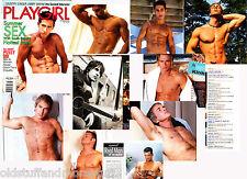 PLAYGIRL 5-04 MAY 2004 JIMMY WAYNE HAIRY CHRIS LEONARDO FRANCO REAL MEN