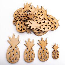 Wooden MDF Shapes Crafts Pineapple Scrapbook Embellishments Card Decoration
