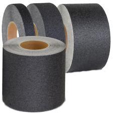 BLACK ANTI-SLIP ADHESIVE BACKED HIGH GRIP SAFETY NON SLIP TAPE 50MM
