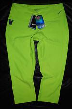 NEW Women's Nike Golf Villanova Wildcats Neon Green Compression Pants (M, L, XL)