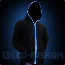 Festival Hoodie Tanzen LED-Fashion Mode LED-Jacke Hoodie schwarz Party leuchtet