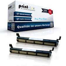 2x Cartuchos Tóner de calidad para Panasonic kx-fat411x Reman kit-easy print