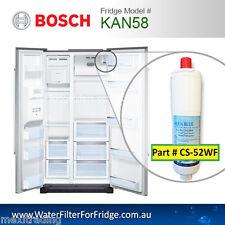 Bosch Premium Internal Replacement Filter Part CS-52, 5586605 for Fridge KAN58