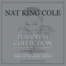 NAT KING COLE - PLATINUM COLLECTION - WHITE 180GR 3 VINYL LP NEW+