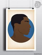 Pharrell Williams-Minimaliste HIP HOP HEADS Poster Minimal posteritty Art heureux