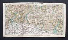 Antica Stampa=Topografica=LOMBARDIA NORD=ITALIA -1903.