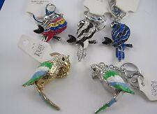 Schlüsselanhänger Taschenschmuck Papagei Ara Parrot verschiedene Designs