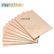 1/5/10PCS 10cmx15cm Double/Single PCB Copper Clad Laminate Board AU