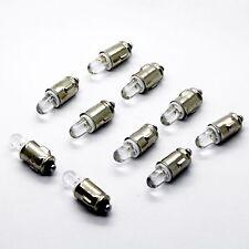 10x 1x LED BA7S 12V weiß Tacho Instrumenten Beleuchtung Licht Lampe Auto Sockel