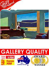 NEW Edward Hopper, Western Motel, 1957 Ashcan, Giclee Art Print or Canvas