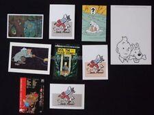 Lot Cartes Postales HERGE TINTIN (115)