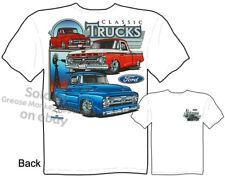 F-100 Ford Pickup T shirt Classic 1955 56 65 Truck Tee Shirts, Sz M L XL 2XL 3XL