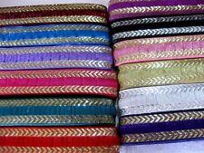 Borte in verschiedenen Farben, lfm, ca.30mm breit  B 291