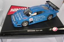 NINCO 50174 SLOT CAR MERCEDES CLK GTR #12 ORIGINAL TEILE M.TIEMANN-J.M.GOUNON