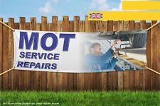 MOT servizio riparazioni auto Garage Heavy Duty PVC BANNER SIGN 4323