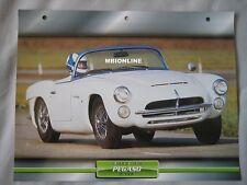 Pegaso Z-103 Dream Cars Card