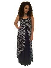 Ladies New Plus Size Maxi Dress sizes 20, 22 & 24 Navy #310