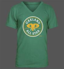 Oakland All Star V-Neck T-Shirt - Oakland Athletics A's Baseball Playoffs