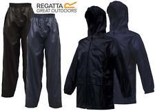 Regatta Stormbreak infantil impermeable CHUBASQUERO CHAQUETA & Pantalones