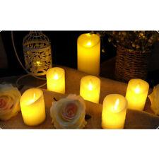 4/6/12Pcs Creative Romantic LED Flameless Swing Flickering Candle Light