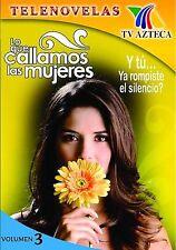 Lo Que Callamos Las Mujeres - Vol. 3 (DVD, 2007)