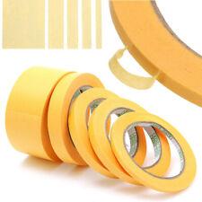New listing Purpose Rolls Painter Decor Diy Craft Masking Tape Car Sticker Yellow Adhesive