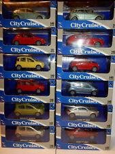 NEW RAY CITY CRUISER FORD FOCUS AUDI A3 TT FIAT 500 PANDA MB 207 MODUS au CHOIX