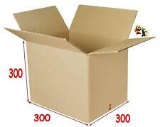 lot de 10 boîtes emballage carton 300 X 300 X 300 mm