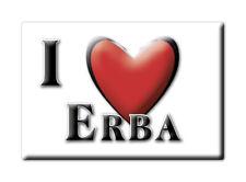 CALAMITA LOMBARDIA ITALIA FRIDGE MAGNET MAGNETE SOUVENIR I LOVE ERBA (CO)--