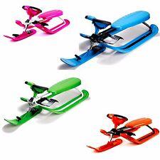Stiga Snow Racer Color Pro Steering Sled Bob Ski Sledge Snowracer