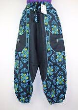 Casual Vintage Bolsa con Harén Pantalones para Pantalón Yoga Hippie Boho Festival de combate HT15