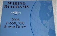 2006 Ford F-650 750 Truck WIRING Diagrams Service Shop Repair Manual EWD CUMMINS