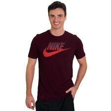 Nuevo Para Hombre Nike Camiseta Camiseta Top Retro Gimnasia Deportes Marrón S M L XL XXL