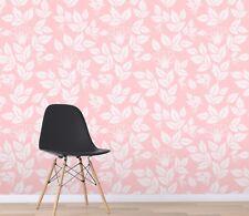 3D Flower Pink Leaf 1 Wallpaper Mural Wall Print Decal Indoor Murals AU Lemon