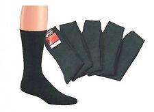 10 Paires Chaussettes de tennis anthracite tissu 100% éponge,bord cousu autour,