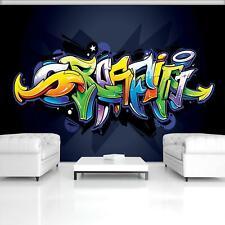 Fototapete Tapete Wandbild 1-20202_P Photo Wallpaper Mural Buntes Graffiti auf M