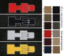 Lloyd Mats Hummer H3 Logo Velourtex Front Floor Mats (2006-2010)