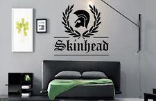 Wall Art Skinhead Laurel 70s-80s Adesivo decalcomania in vinile Lounge