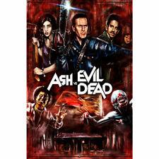 20A615 New Ash vs Evil Dead Horror Tv Series Show Art Poster Silk Deco