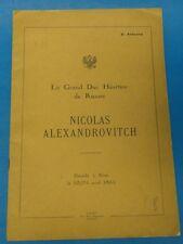 Le grand duc héritier de Russie, Nicolas Alexandrovitch. Décédé à Nice le 1865