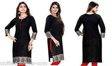 UNIFIEDCLOTHES® Pakistani Ethnic Style Cotton Brasso Kurti Tunic for Ladies 387