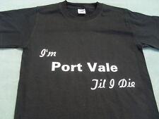 Port Vale T-shirts et sweat shirts Inc 4XL & 5XL Personnalisé Cadeau De Noël