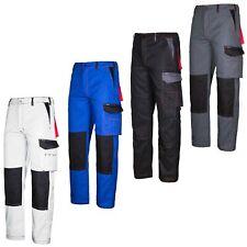Arbeitshose Bundhose Schutzkleidung Arbeitskleidung Hose weiß CRAFTLAND Gr.42-64