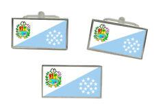 and Tie Pin Set Sucre (Venezuela) Flag Cufflink