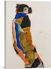 ARTCANVAS Moa Mandu Canvas Art Print by Egon Schiele