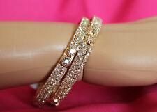 Bracelet Bangles 5490 Golden Bangle Kadra Indian Polki Jewelry Shieno